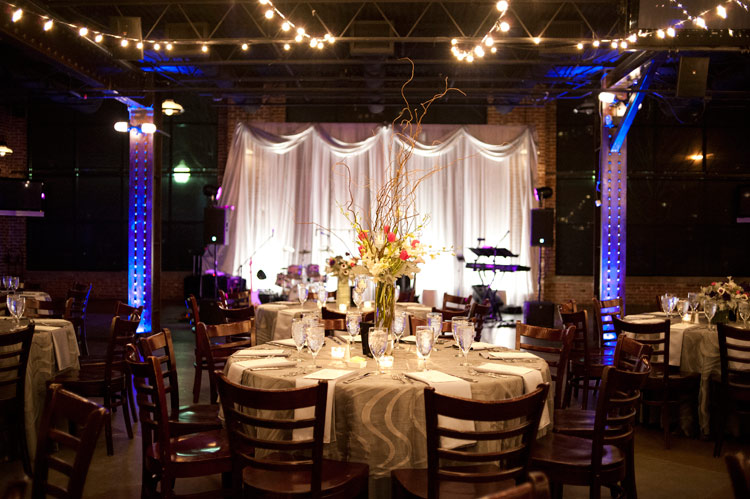 Mile High dance floor, lighting, table_brinton