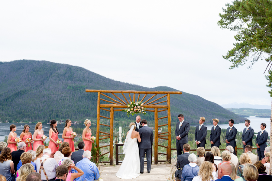 ceremony at Grand Lake