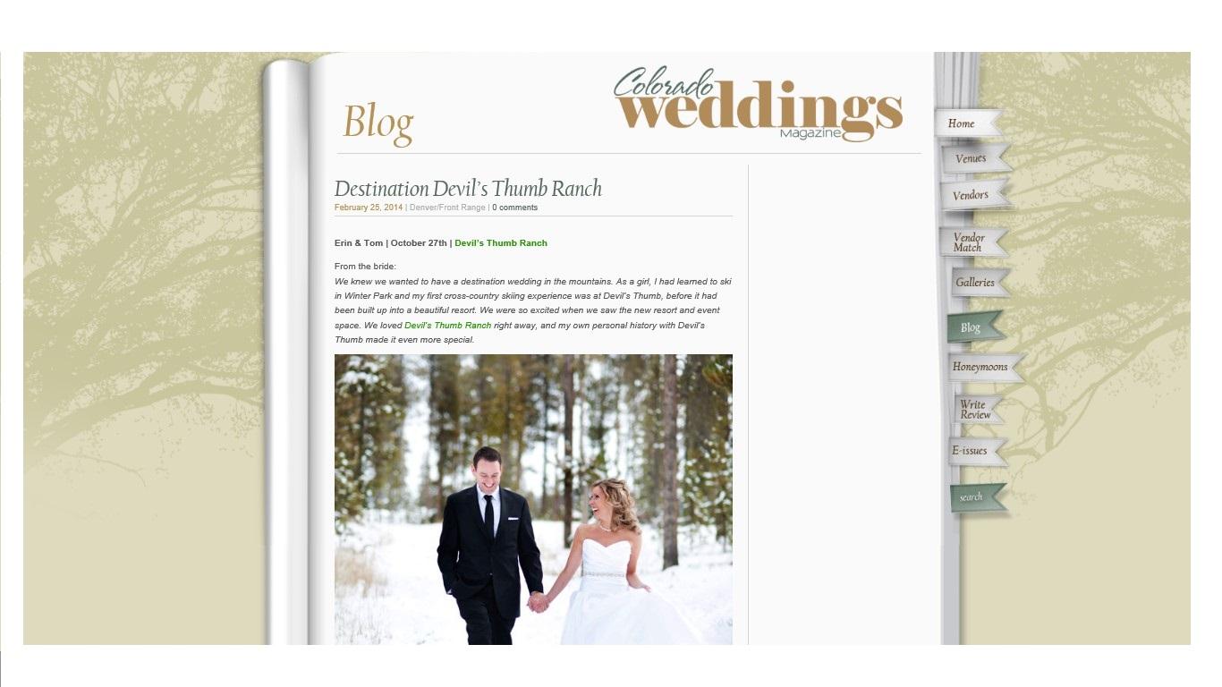 CO Wedding Blog