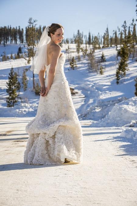 Gorgeous couture wedding dress, David Lynn Photography