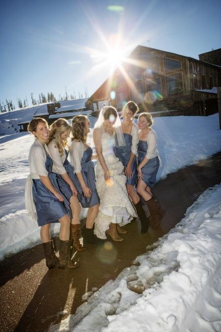 Bridesmaid boots, David Lynn Photography