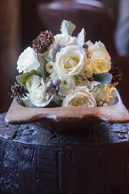 Winter bouquet by Statice Floral, David Lynn Photography