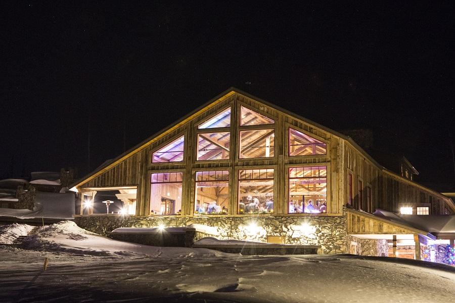 High Lonesome Barn at night, David Lynn Photography