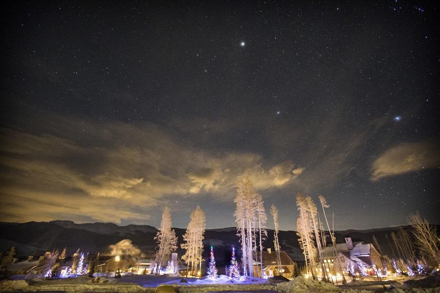 Beautiful evening at Devil's Thumb Ranch, David Lynn Photography