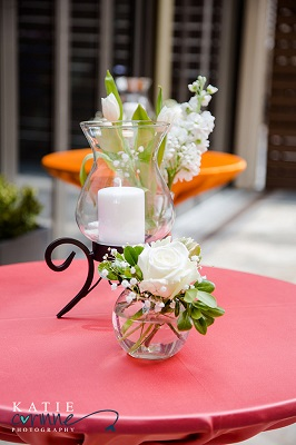 Cocktail table decor