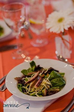 Delicious salad from JW Marriott, Denver