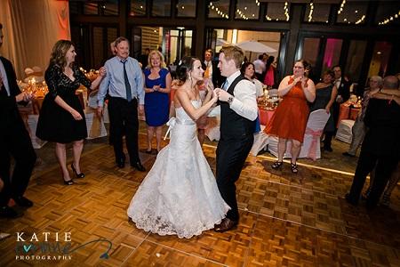 First dance at JW Marriott, Denver