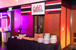 Bar mitzvah food station, Jared Wilson Photography