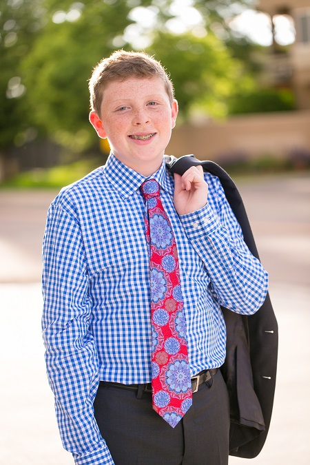 Coby's Bar Mitzvah portrait, Jared Wilson Photography