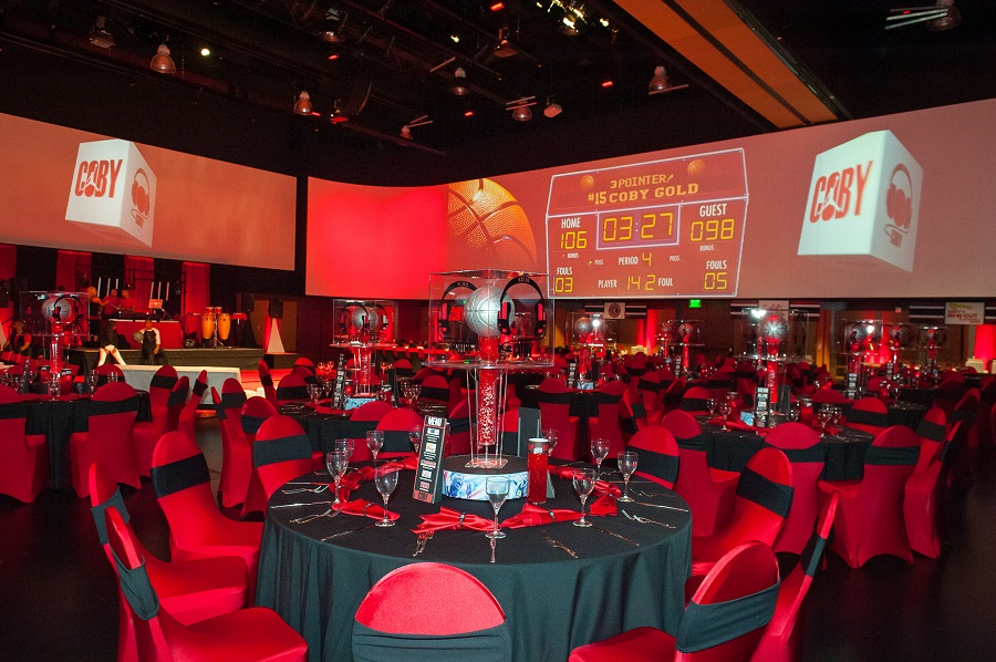 Basketball themed bar mitzvah at Infinity Park, Jared Wilson Photography