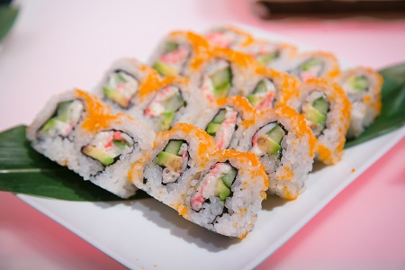 Sushi rolls from Sushi Sasa, Jared Wilson Photography