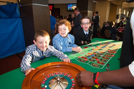 Bar mitzvah Casino games from Fun Productions, Jared Wilson Photography