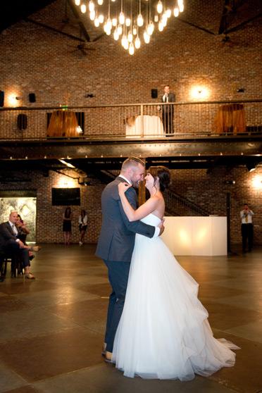 Urban Industrial Elegance Denver Wedding At Mile High