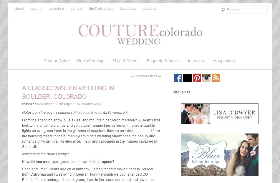Couture Colorado Feature