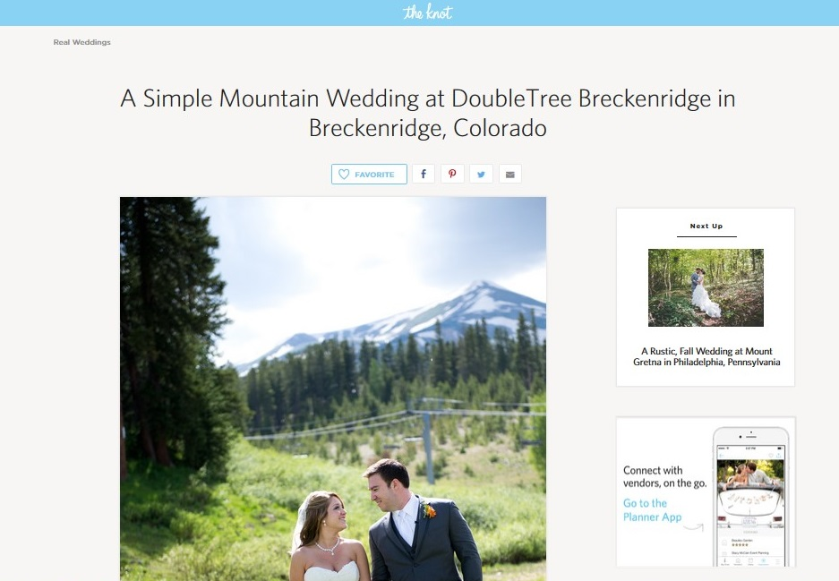 The Knot Breck feature