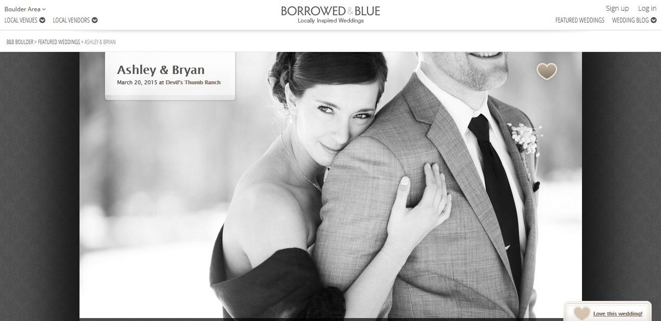 Borrowed & Blue, Ashley