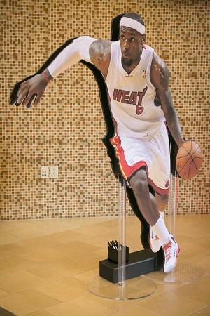 Basketball player cutout, Jared Wilson Photography