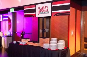 Bar mitzvah food station, Jared Wilson Photography