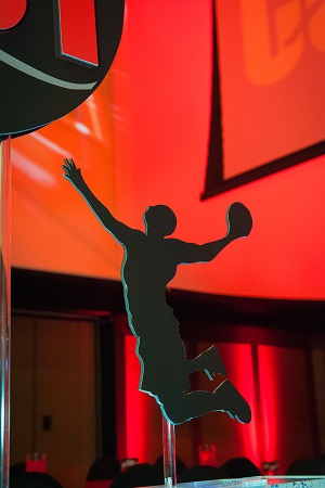 Basketball player silhouette from Design Works, Jared Wilson Photography