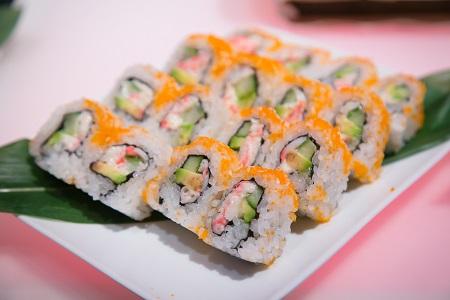 Sushi rolls from Sushi Sasa, Jared Wilson Photography