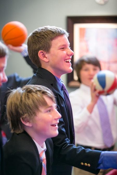 Basketball games at Bar Mitzvah, Jared Wilson Photography