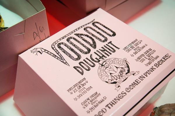 VooDoo Doughnut box, Jared Wilson Photography