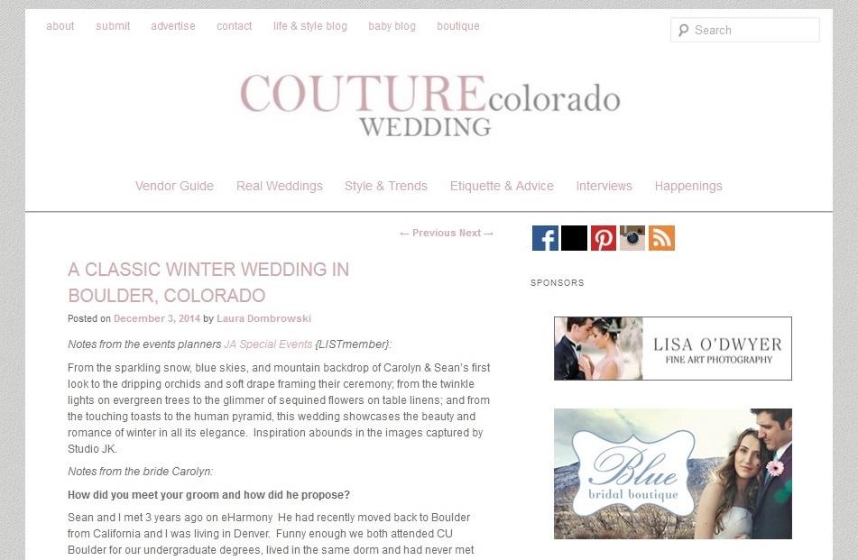 Couture Colorado Feature