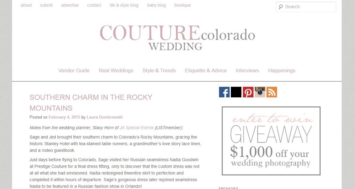 Couture Colorado Sage